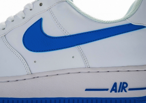 Nike Air Force 1 White Photo Blue New Release