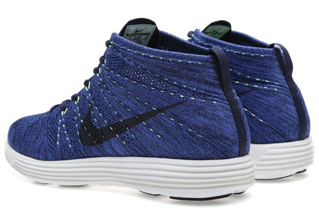 Nike FlyKnit Lunar Chukka Game Royal Volt