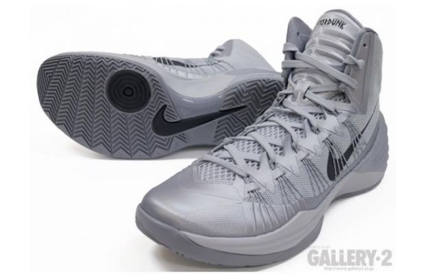 Nike Hyperdunk 2013 Grey Black 02