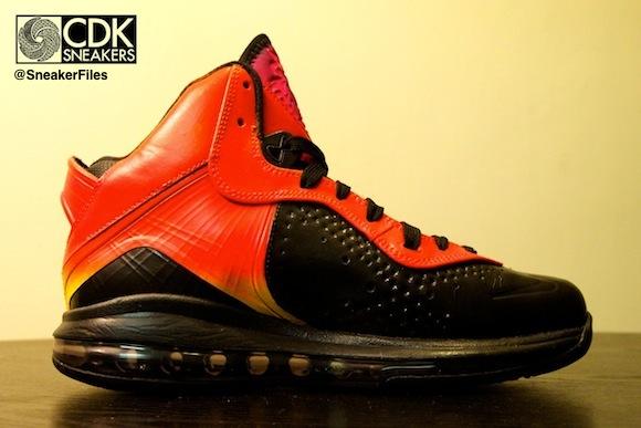 Nike Lebron 8 Sunset CDKsneaker Custom