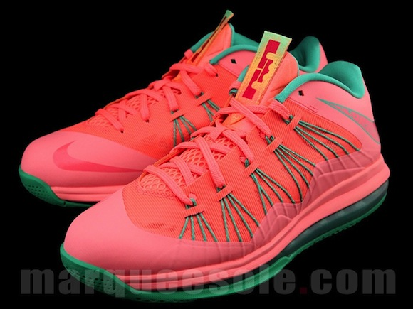 Nike Lebron X Low Watermelon New Release
