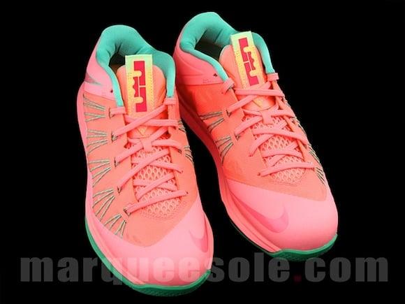 Nike Lebron X Low Watermelon New Release