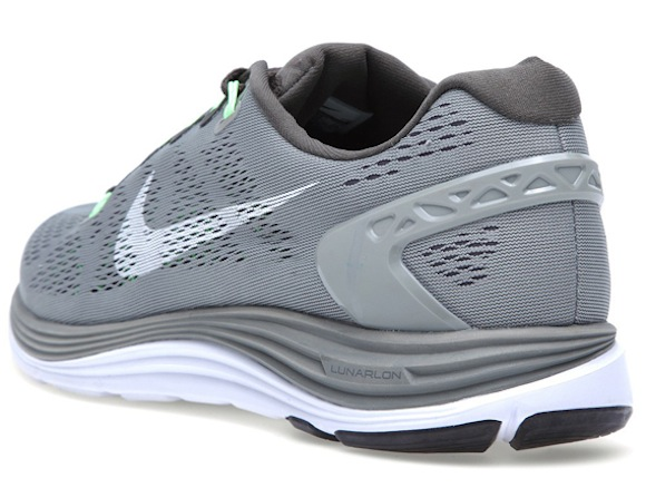 Nike LunarGlide 5 Wolf Grey Sonic Yellow