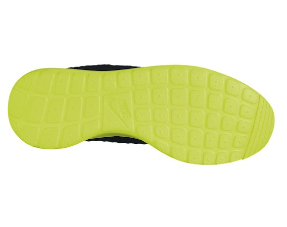 Nike Roshe Run FB Black Volt Available Now