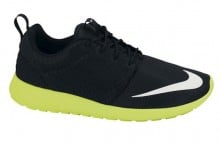 Nike Roshe Run FB (Black/Volt) – Available Now