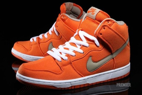 Nike SB Dunk High Pro Urban Orange New Release