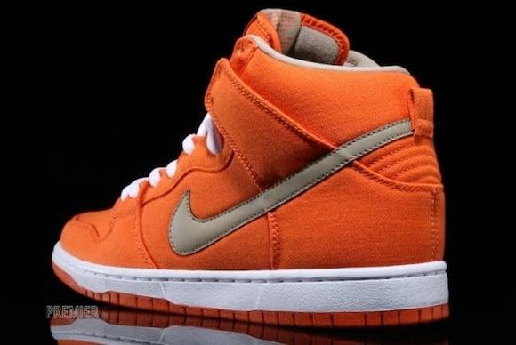 Nike SB Dunk High Pro Urban Orange New Release