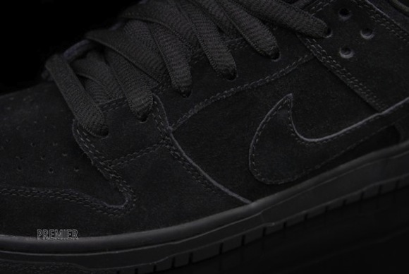 Nike SB Dunk Low Pro Blacked Out Available Now