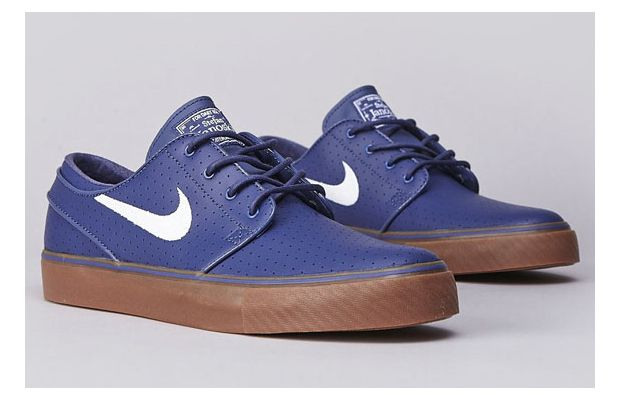 Nike SB Zoom Stefan Janoski Blue Recall Perf Now Available 02