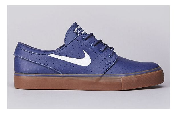 Nike SB Zoom Stefan Janoski Blue Recall Perf Now Available