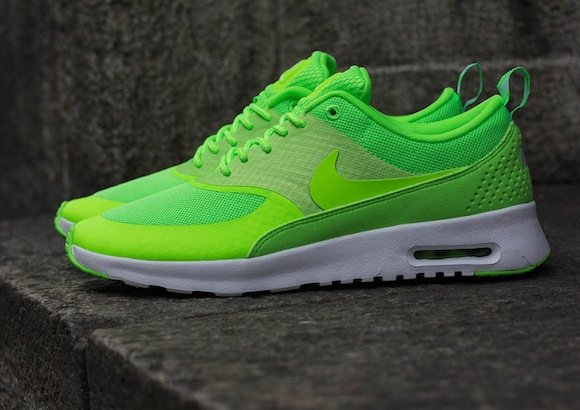 low priced 2a784 55d3d Nike WMNS Air Max Thea Flash Lime New Look