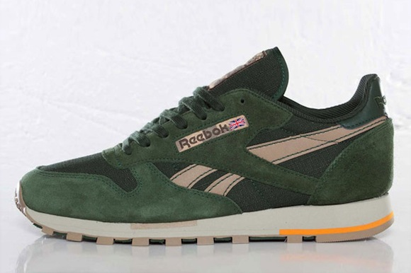 Reebok Classic Leather Utility (Olive Green) - New Release ... 5742cbde0