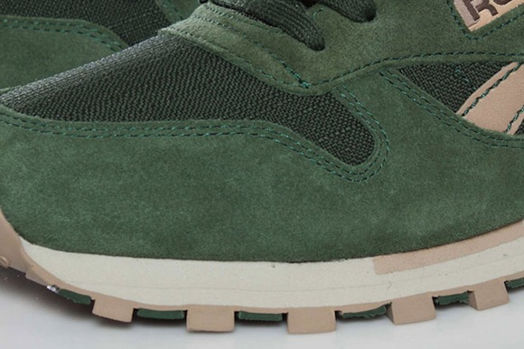 Reebok Classic Leather Utility Olive Green New Release