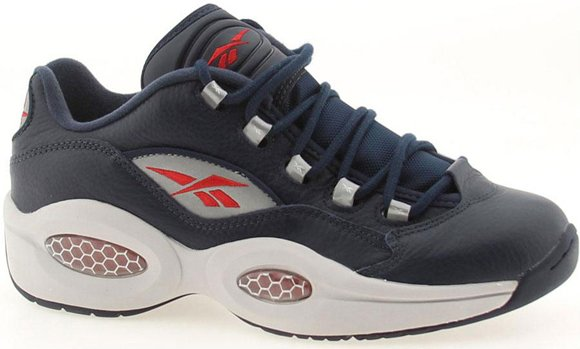 Reebok Question Low Navy Steel Red Silver 02