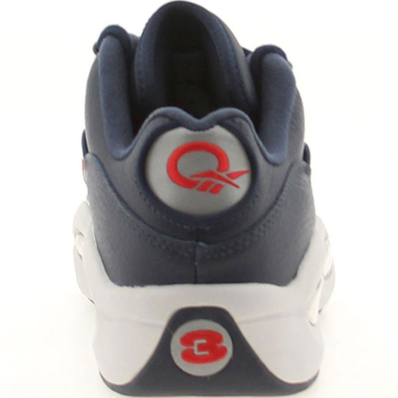 Reebok Question Low Navy Steel Red Silver 03