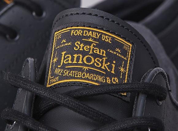 Stefan Janoski Nike SB Black Gold New Release