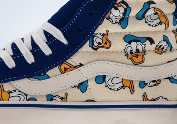 Vans Vault Sk8 Hi LX Donald Duck