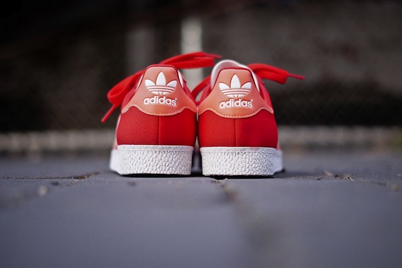 Vivid Red Adidas Gazelle II New Release