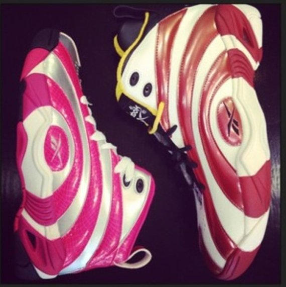 A Preview of Whats to Come Reebok Shaqnosis Pink Silver