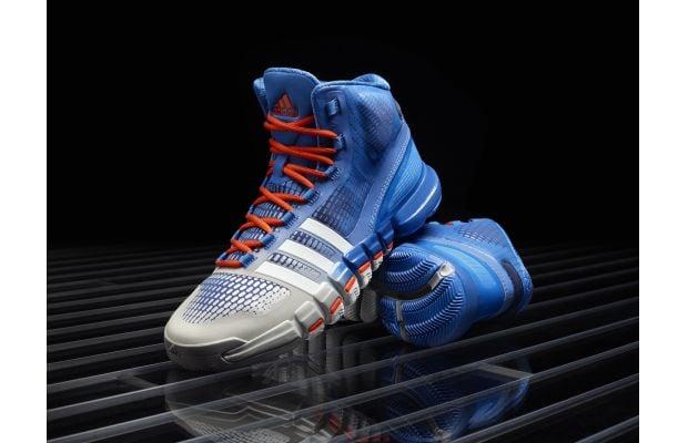 adidas Crazyquick Blue Silver Orange