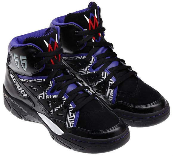 adidas Mutombo Black White Purple 07