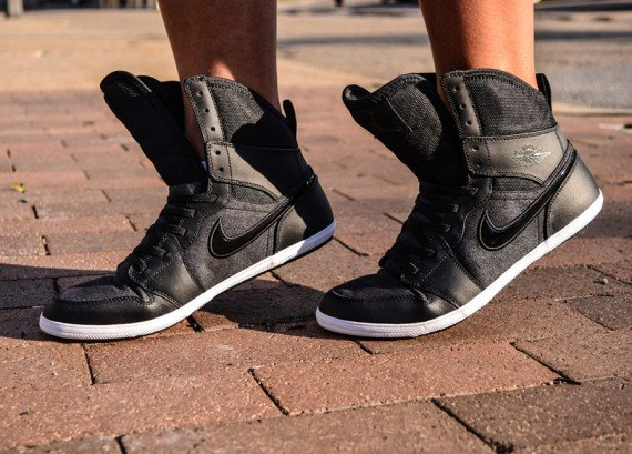 Air Jordan 1 Skinny High GS Black Anthracite-Now Available ... ea365570e220