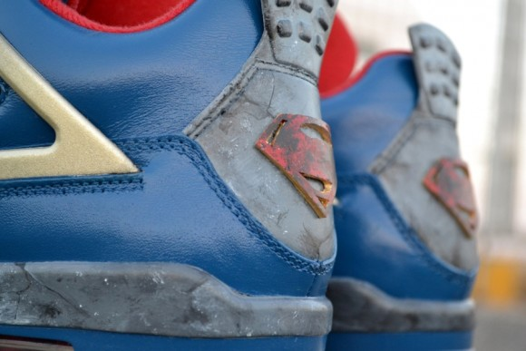Air Jordan IV Jumpman of Steel Customs by Freaker Sneaks