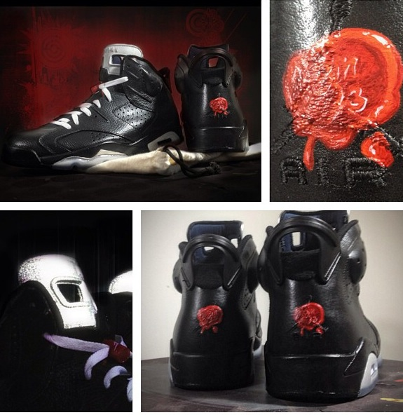 Air Jordan VI Bin 65 by Mache Customs