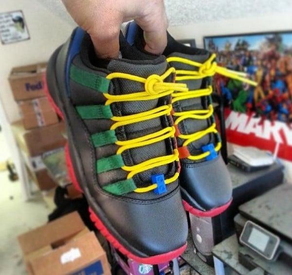 Air Jordan XI (11) Low  LEGO  Custom  9fd5417f4