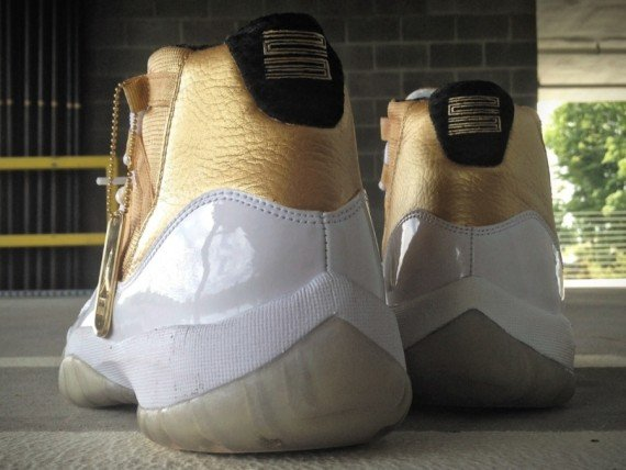 Air Jordan XI Reverse DMP Customs by Mache