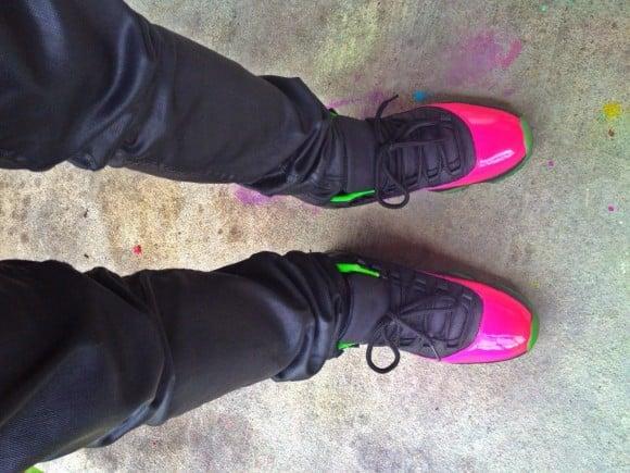 Air Jordan XI Ultraviolet By Noldo Customs