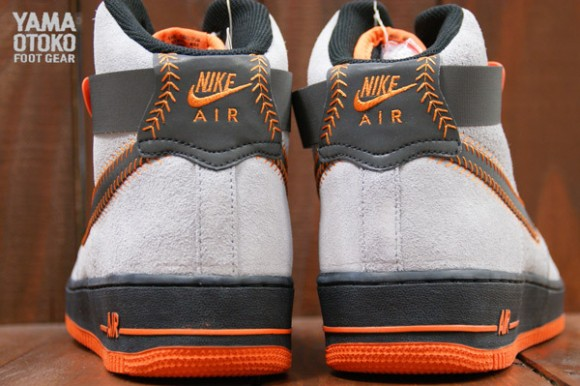 """Another Look: """"Baltimore"""" Nike Air Force 1 High QS"""