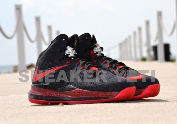 Another Look Black Denim Nike LeBron X Sample