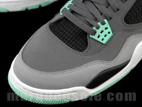 Another Look Green Glow Air Jordan IV