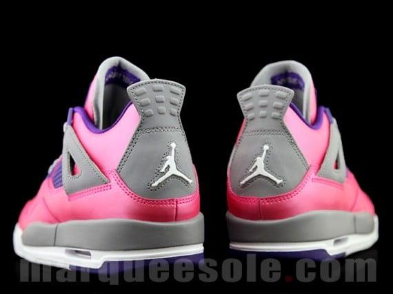 Another Look Pink Purple Air Jordan IV GS
