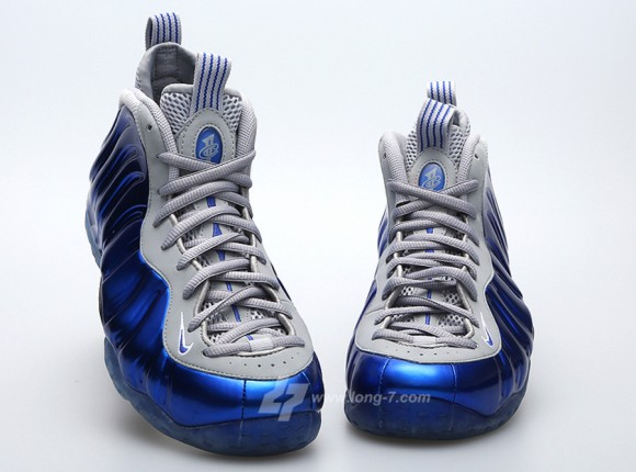 Another Look Royal Grey Nike Air Foamposite One