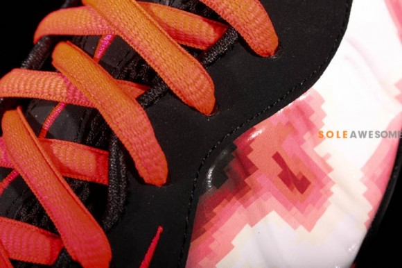 Another Look Thermal Map Nike Foamposite One