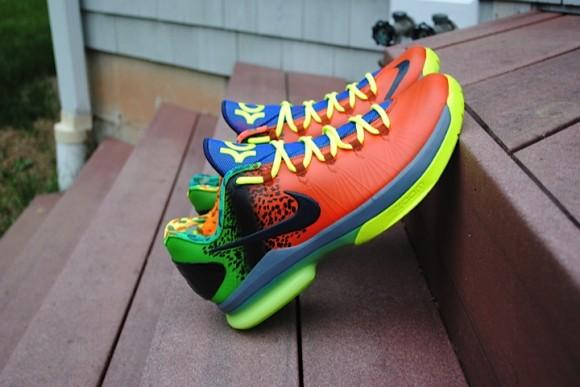 Anti Nerf Nike KD V Elite Customs by Rise Above Customs