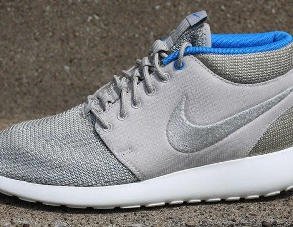 Nike Roshe Exécuté Milieu Mortier Bleu