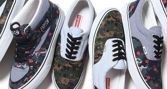 c3770ce831815 COMME des GARCONS SHIRT x Supreme x Vans : Release Info | SneakerFiles