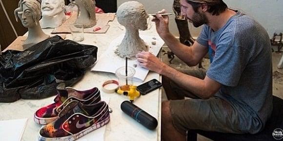 Customized Greatly Nike SB Zoom Stefan Janoski Tie Dye Custom Make For The Man Himself