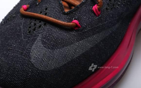 Detailed Images Nike Lebron X Denim