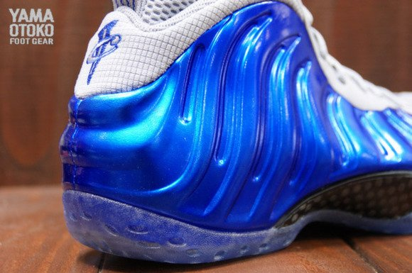 Detailed Look Nike Air Foamposite One Sport Royal