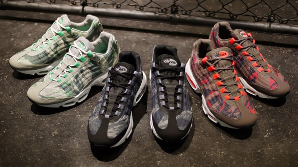 huge inventory 85288 daea6 Detailed Look Nike Air Max 95 Premium Tape Camo Pack