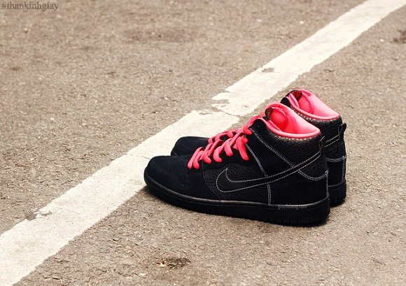 Detailed Look Nike SB Dunk High Black Safari