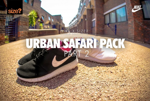 Detailed Look Size X Nike Urban Safari Pack Part 2
