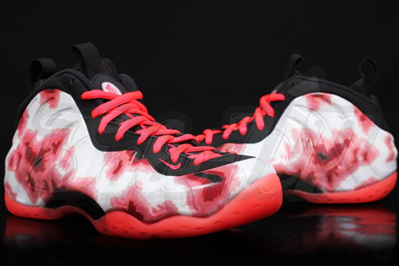 First Look Nike Air Foamposite One Thermal Map Crimson