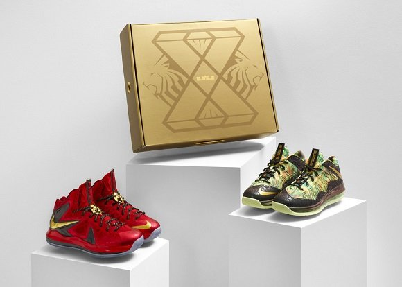First Look Nike LeBron X Championship Pack