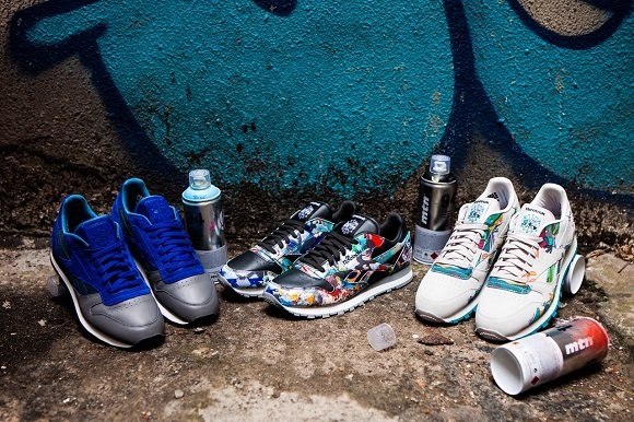 First Look Stash Reebok Classic Leather City Series Pack