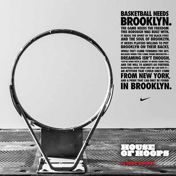 Foot Locker House of Hoops to Open First Location in Brooklyn